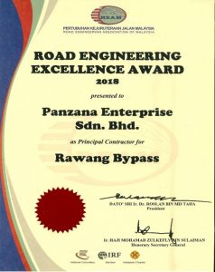 Road Engineering Excellence Award